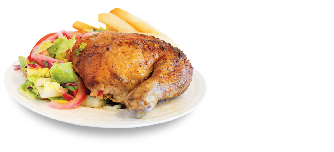 King Pollo Peruvian Style Rotisserie Charcoal Broiled Chicken